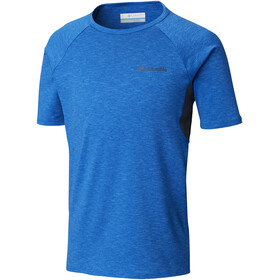 Columbia Silver Ridge II T-shirt Jongens, super blue heather